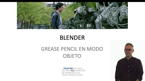 Blender: Grease Pencil en modo objeto