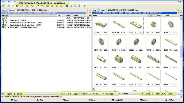 Creación Virtual Modelo Lego Technic - Isogawa - T-0008 ¿ no audio