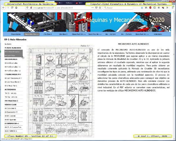 Mecánica y Teoría de Mecanismos ¿ 2020 ¿ MM - Clase 09 ¿ Tramo 02 de 13