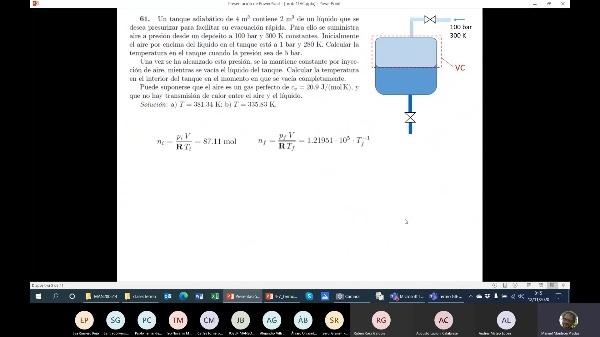 Termodinámica GIE clase 14a