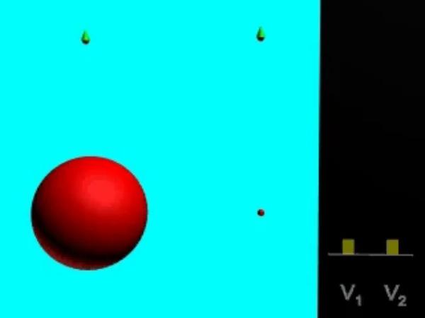 Comparacion_2: Comparación de los potenciales eléctricos creados por una carga puntual y por una esfera conductora de la misma carga