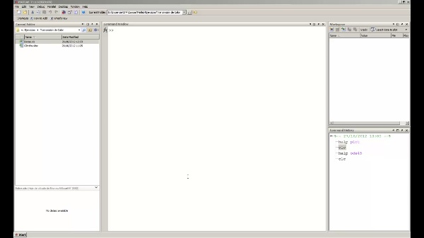 Desktop en Matlab (II)