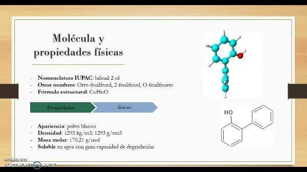 Aditivos alimentarios-ortofenilfenol (E-231)