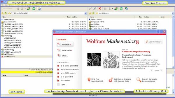 Simulación Mecanismo a_4_0963 con Cosmos Motion - 2 de 4