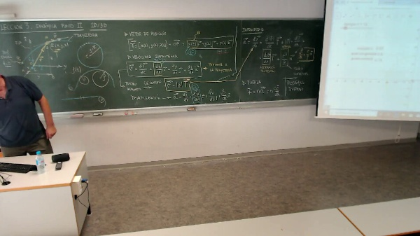 Física 1. Lección 3. Explicación movimiento circular