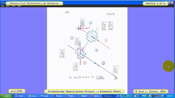 Simulación Mecanismo a_z_1190 con Cosmos Motion - 2 de 6