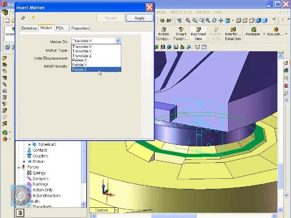 Montaje de un robot ABB con Solidworks - tramo 10 DE 10