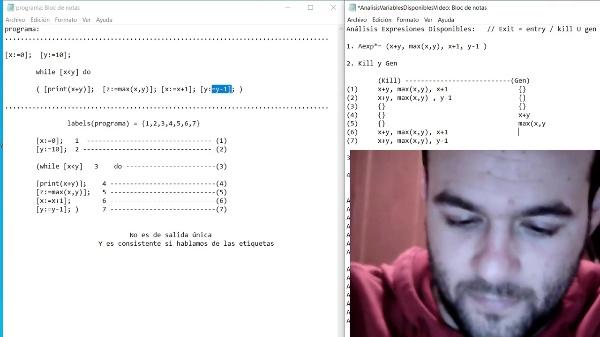 Análisis Expresiones Diponibles AVD- Rubén García-Moreno Martí