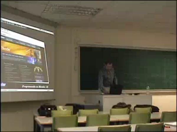 Seminario Programando en Blender 3D ( 22 febrero 2007 ) - PoLinuX