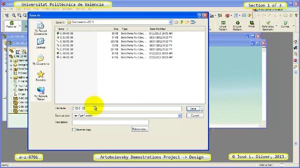 Creación Virtual Mecanismo a_z_0701 con Solidworks - 1 de 3