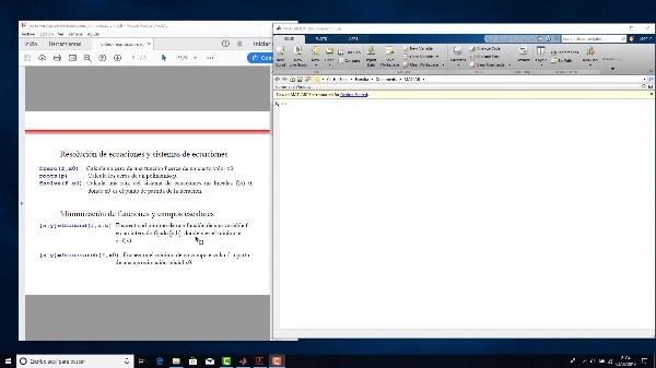 Resolución de ecuaciones no lineales y minimización de funciones con Matlab