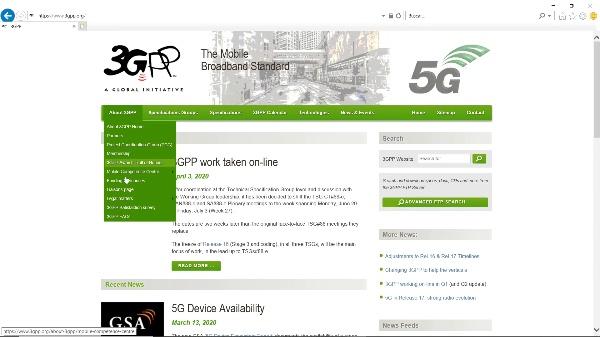 IRT - Redes 3GPP 02 - Web del 3GPP