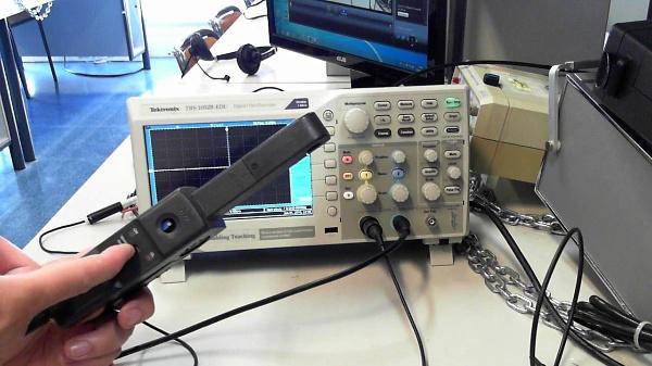 Ajuste de la sonda de corriente o pinza amperimétrica