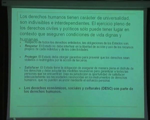 Carlos Cortez - Desarrollo Humano y Nuevas Visiones del Desarrollo (parte 2 de 4)