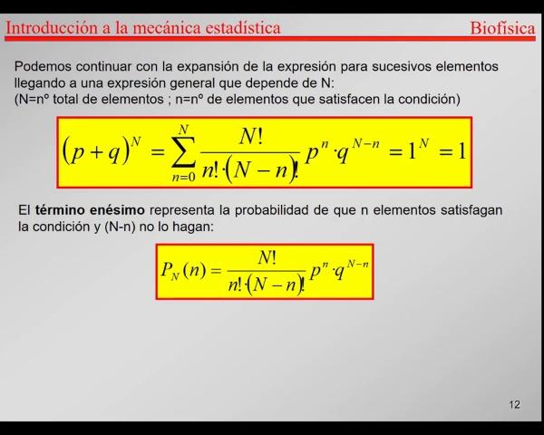 6.-Física Estadística T12-T13-Combinatoria