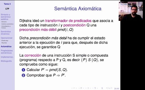LTP. Tema 2.4. Semántica axiomática