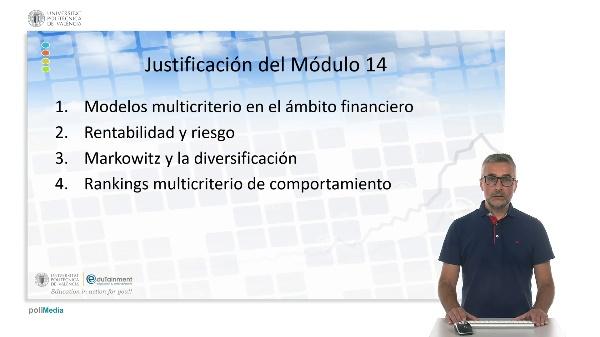 Introducción. Modelos multicriterio aplicados a la gestión de carteras