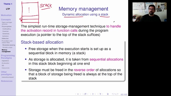 LTP - Unit 1 - Memory management