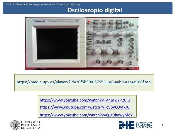 Osciloscopio y generador de señales