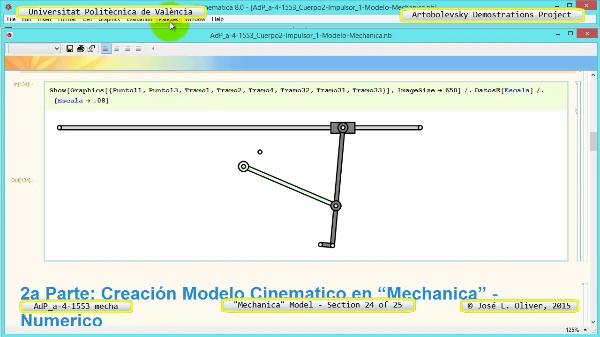 Simulación Mecanismo a-4-1553 con Mechanica - 24 de 25 - Modelo Mechanica