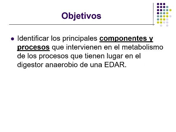 Metabolismo Procesos Anaerobios en Tratamiento de Aguas Residuales