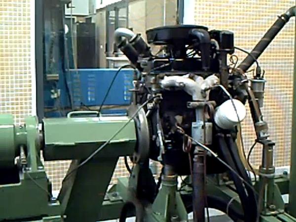 Explicacion de Banco de ensayo de Motores de Combustión Interna Alternativos