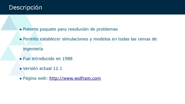 Introducción Mathematica
