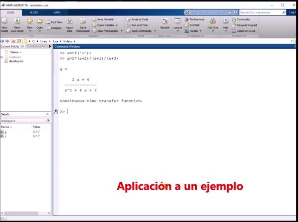 Introducción a la herramienta RLTOOL en Matlab 2017b