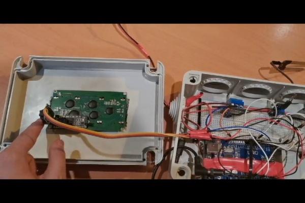Sistema de riego automatico
