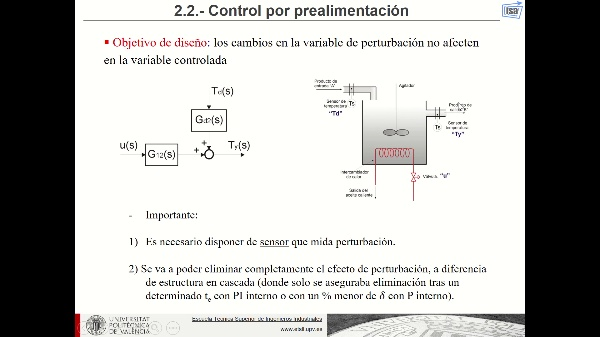 Control por prealimentación (fundamentos teóricos)