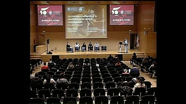 Mesa redonda. Semana 50a UPV Carrera Investigadora. La internacionalización y la movilidad en la carrera investigadora