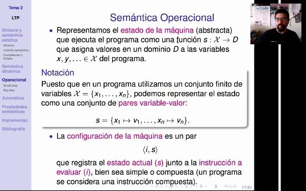 LTP. Tema 2.3.1. Semántica operacional: introducción