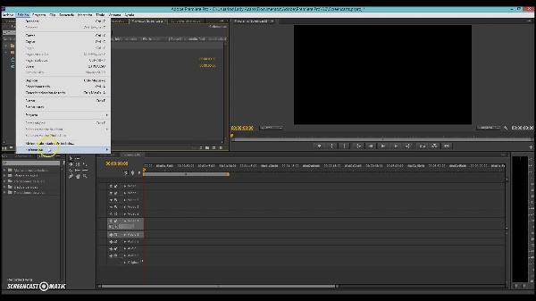 Animación de un fondo con fundidos en Adobe Premiere