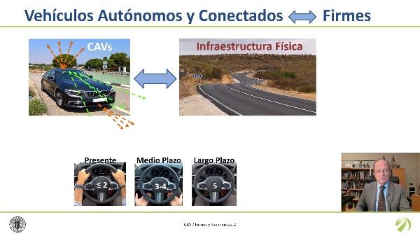 Los vehículos autónomos y conectados y los pavimentos de carreteras