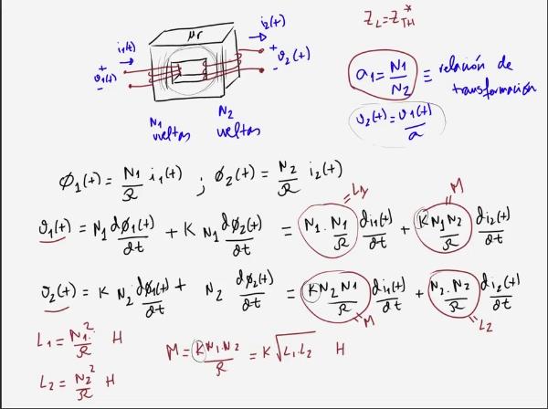 Teoría de Circuitos 1. Lección 6. 8-4 Transformador como adaptador de impedancias