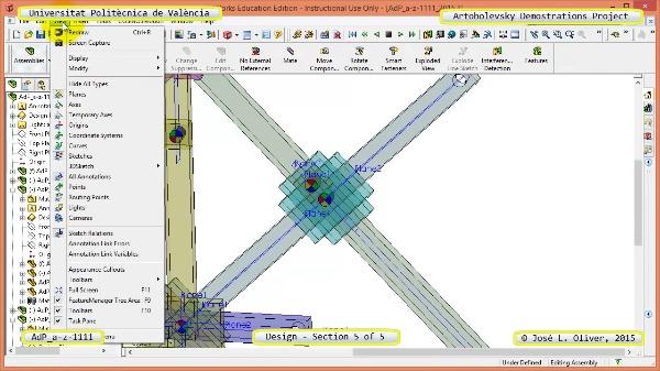 Creación Virtual Mecanismo a-z-1111 con Solidworks - 5 de 5