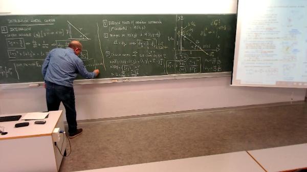 Física 1. Lección 4. Integración para distribución de carga