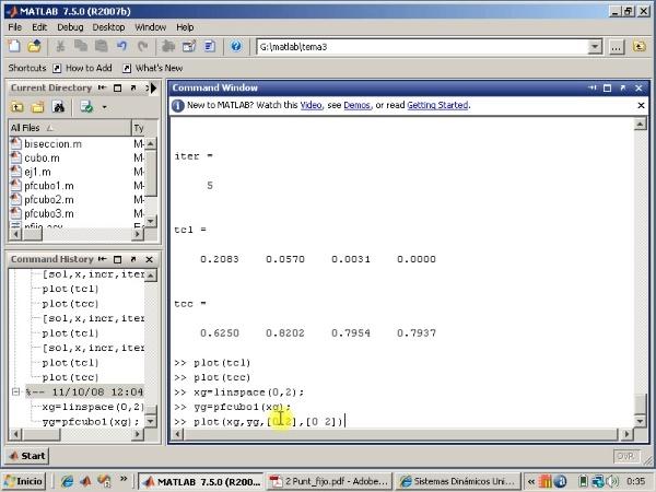 Tema 3. F(x)=0. El método de punto fijo (3/3).
