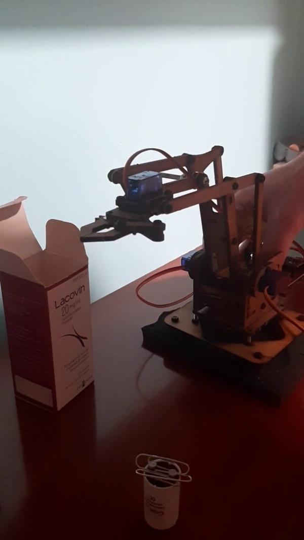 Proyecto final: cinemática directa + pick&place (robot)