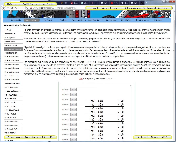 Mecánica y Teoría de Mecanismos ¿ 2020 ¿ MM - Clase 04 ¿ Tramo 03 de 11
