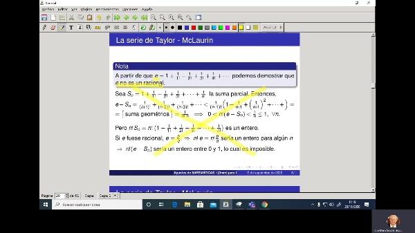 Matemáticas 1 GIOI grupo V  Clase 21