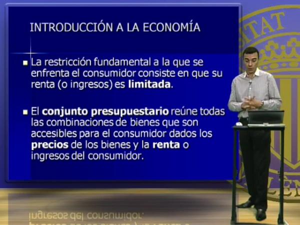INTRODUCCIÓN A LA ECONOMÍA  5 (1º CURSO)
