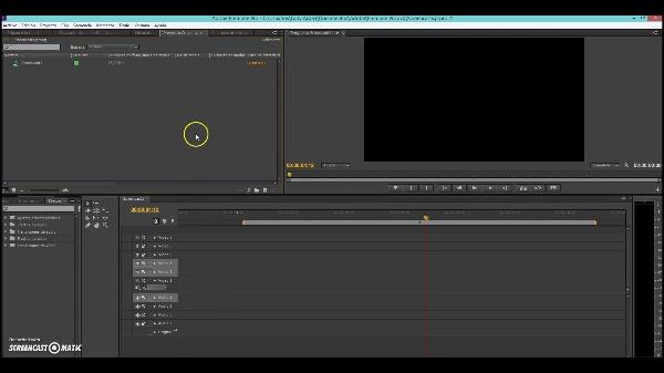 Montaje en Adobe Premiere de una secuencia animada