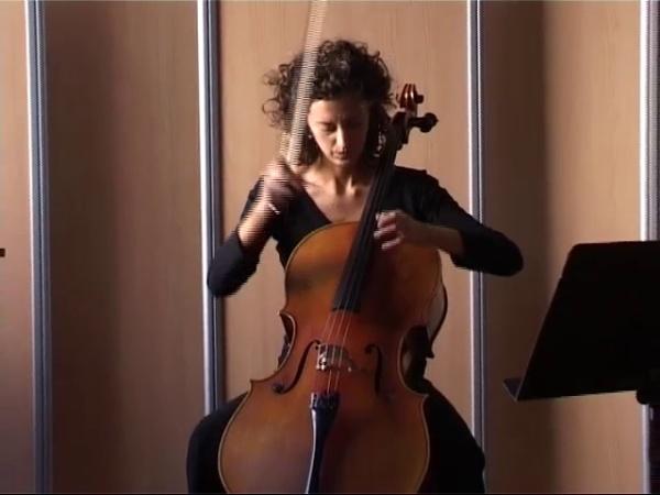 Plany, V. García-Mayte García Atienza, violonchelo