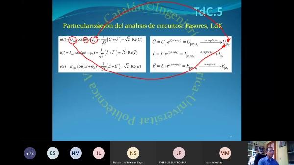 TdC-2.06.0.Régimen estacionario sinusoidal: Recordatorio y aplicaciones en instalaciones eléctricas