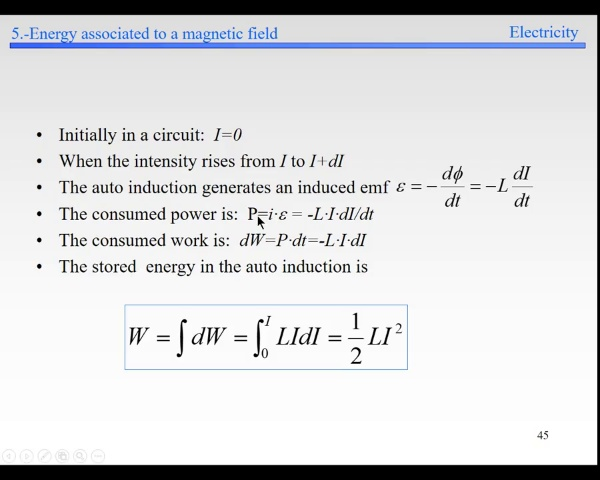 Elec-5.-Induction-S45- Energy in selfinduction