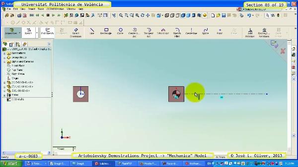 Simulación Mecanismo a_c_0683 con Mechanica - 03 de 19