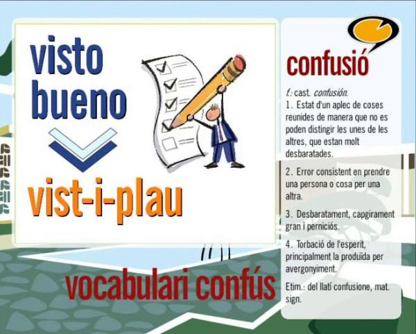 Vocabulari confús 1