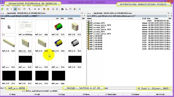 Creación Virtual Mecanismo a-c-0658 con Solidworks - 06 de 10