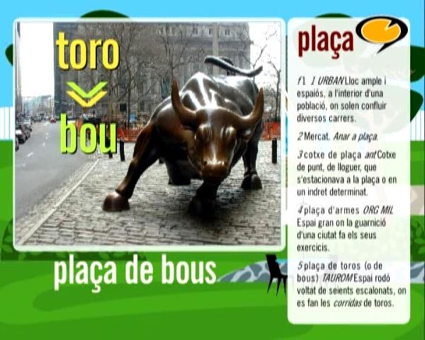 La plaça de bous